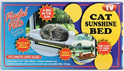 Cat Window Mounted Sunshine Bed Pet Cat Space Saving Suction Cups