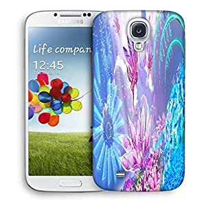 Snoogg Pink Petals Designer Protective Phone Back Case Cover For Samsung Galaxy S4