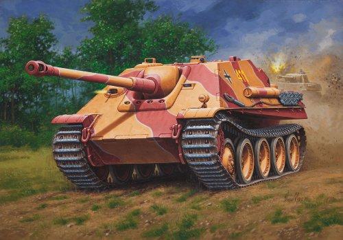 Revell-03232-Modellbausatz-Jagdpanther-im-Mastab-176