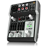 Behringer 302USB Premium 5-Input Mixer with XENYX Mic Preamp and USB/Audio Interface