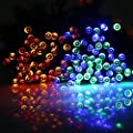 LED String Lights,Blusmart Battery Christmas Lights 72ft 200 LED 8 Modes Waterproof String Fairy Light for Shopping Mall, Patio, Lawn, Landscape, Fairy Garden, Home, Wedding(Multi-Color)