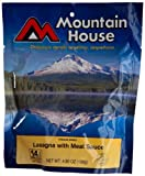 Mountain House Standard Pouch, Lasagna with Meat Sauce