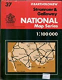 img - for Stranraer & Galloway, Sheet 37 (Bartholomew National Map Series) (1:100 000) book / textbook / text book