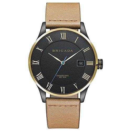 BRIGADA Swiss Brand Business Casual Minimalist Watch For Men