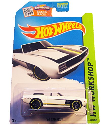 Hot Wheels, 2015 HW Workshop, '69 Camaro [White] #241/250 (White Camaro compare prices)