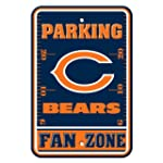CHICAGO BEARS PLASTIC PARKING SIGNS S...