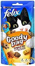 Felix Goody Bag Original Mix Cat Treat 60 g (Pack of 8)