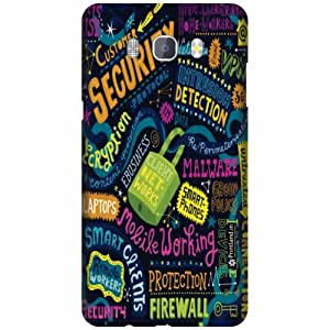 Printland Designer Back Cover For Samsung Galaxy On8 - Moment Cases Cover