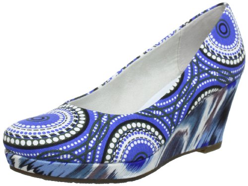 Tamaris Tamaris-TREND Pumps Women's multi-coloured Mehrfarbig (BLUE COMB 898) Size: 6 (39 EU)