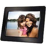 【Amazonの商品情報へ】Transcend デジタルフォトフレーム 8インチ 内蔵メモリー2GB 解像度800×600 ブラック TS2GPF830B-J