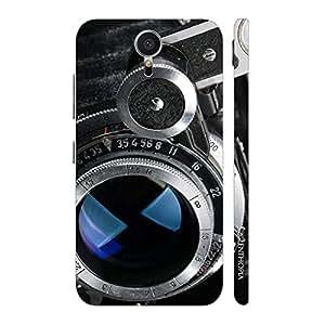 Enthopia Designer Hardshell Case Vintage Camera 4 Back Cover for Meizu M2 Note