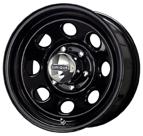 Unique Wheel (Series 297) Black – 15 X 8 Inch