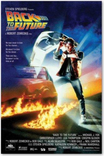 バックトゥザフューチャーポスター/BACK TO THE FUTURE マイケルJフォックス