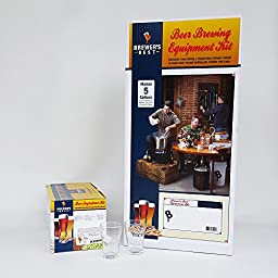 Brewer\'s BeAst Equipment Kit (w/ Better Bottle) with Belgian Tripel Beer Ingredient Kit and 2 Chicago Brew Werks Tasting Glasses
