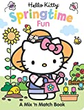 img - for Hello Kitty Springtime Fun: A Mix 'n Match Book book / textbook / text book