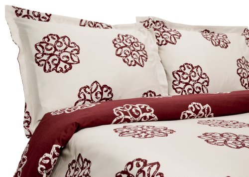 Red Duvet Cover Twin front-124637