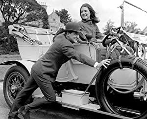 PATRICK MACNEE AS JOHN STEED, DIANA RIGG AS EMMA PEEL/LOLA FROM THE AVENGERS #4 - BLACK & WHITE Movie Photo - (4 Different Photograph & POSTER Sizes Available)