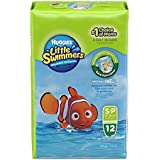 Huggies Little Swimmers Taille 3-4 (7-15 kg) Couches de natation jetables - Pack de 12 - lot de 2 (24 couches)