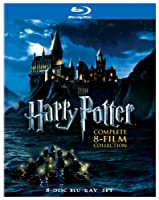 Harry Potter The Complete 8 Film Collection Blu-ray from Warner Bros.