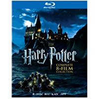 Harry Potter The Complete 8 Film Collection on Blu-ray