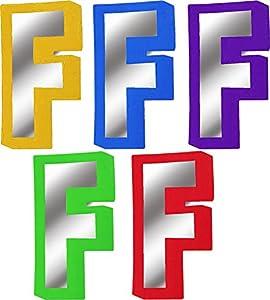 Selbstklebende Buchstaben