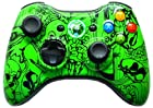 5,500+ Mode Gaming Controller Xbox 360 in Custom Painted Hydro Dipped GREEN SKULLS SHELL!!! Will Not Chip, Scratch, Or Fade Quick Scope, Drop Shot, Jump Shot, Jitter, Auto Aim, Auto Burst, Quick Aim, Dual/akimbo, Mimic And More.
