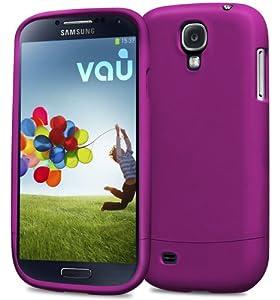 vau Snap Case Slider - matte purple - zweigeteiltes Hard-Case für Samsung Galaxy S4