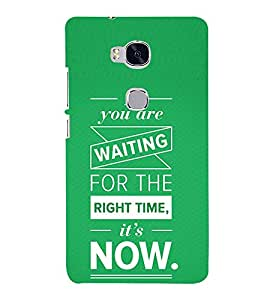 Motivation Quote 3D Hard Polycarbonate Designer Back Case Cover for Huawei Honor 5X :: Huawei Honor X5 :: Huawei Honor GR5