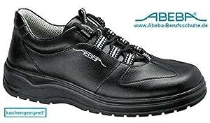 Abeba , Chaussures de sécurité pour homme Noir Noir Noir Taille 37