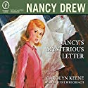 Nancy's Mysterious Letter: Nancy Drew Mystery Stories Book 8 Audiobook by Carolyn Keene Narrated by Jessie Birschbach