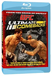 NEW Ufc - Ufc: Ultimate Comebacks (Blu-ray)