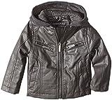 Urban Republic Big Boys Nappa Faux Leather Moto Jacket