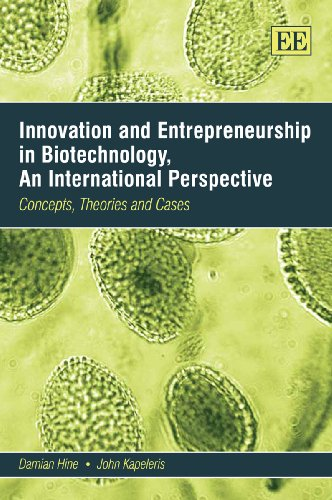 Innovation and Entrepreneurship in Biotechnology, An International Perspective: Concepts, Theories and Cases