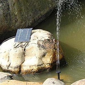 Solar Pumpe Teichpumpe Solarpumpe Springbrunnen Brunnen NSP1 Wasserspiel Deko by Solar Teichpumpe Factory
