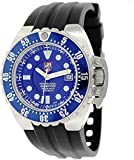 Luminox Men's Deep Dive 1513 Black Rubber Swiss Automatic Watch Blue Dial Rating