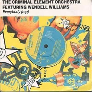 """Everybody (rap) 7 Inch (7"""" Vinyl 45) UK De Construction 1990"""