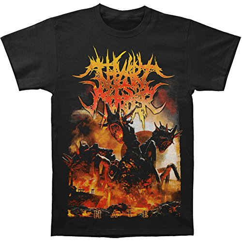 Michaner Walosde Thy Art Is Murder Men's Hate T-shirt Black Large