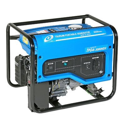 Tsurumi TPG4-3000HDX Portable Generator, 2800-watt