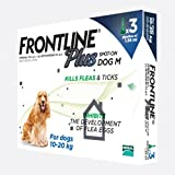 Frontline Plus for Medium Dogs - 3 Pipettes