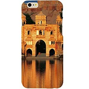 Casotec India Architecture Design Hard Back Case Cover for Apple iPhone SE