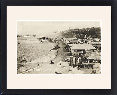 Framed Print Of Yemen - Aden - Post Office Bay, Steamer Point front-567102