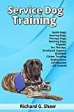 Service Dog Training - Guide Dogs, Hearing Dogs, Therapy Dogs,  Working Dogs, Puppies, Pet Therapy, Emotional Support, Disabled, Clicker Training, Registration, Certification - All Covered