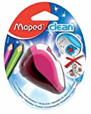 Maped Clean Sharpener, 2-Hole Pencil Sharpener, Assorted Colors (030210US)