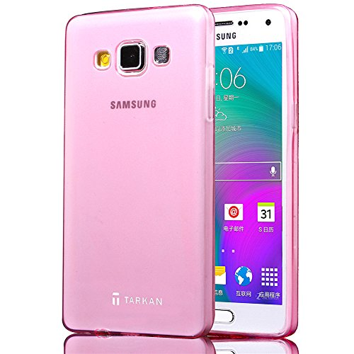 Tarkan 0.3mm Slim TPU Authentic Soft Transparent Flexible Back Case Cover For Samsung Galaxy J7 - Cute Pink