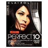 Clairol Nice'n Easy Perfect 10 Permanent Hair Colour - Black 2