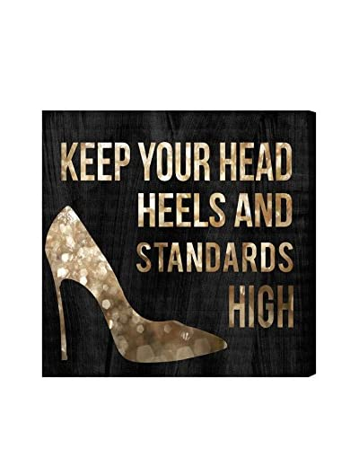 "Oliver Gal ""Head And Heels"" Canvas Art"