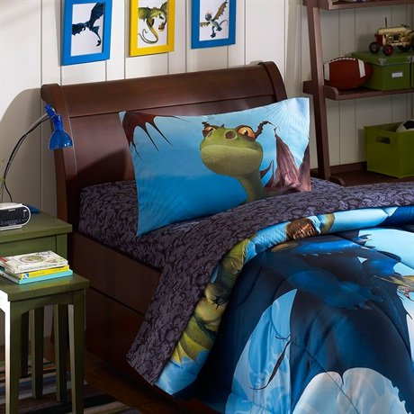 Great Deal! How To Train Your Dragon Twin Sheet Set