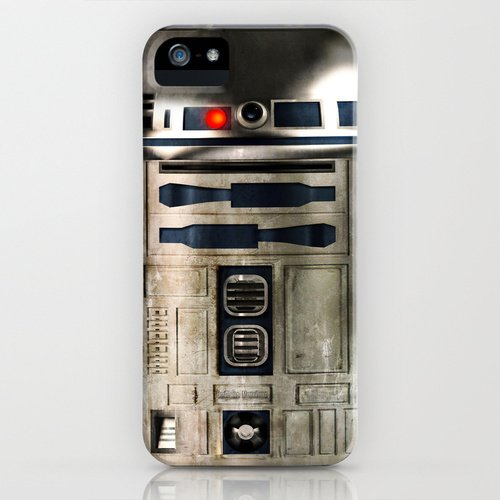 Society6 ソサエティシックス iPhone5 ケース 「 R2-D2 」 & 銀&銀オリジナル スタイラス セット