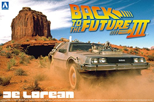 Aoshima Models Delorean from Back to the Future III Building Kit (Delorean Model Kit compare prices)
