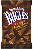 Bugles Crispy Corn Snacks, Sweet and Salty, Chocolate Peanut Butter, 6-Ounce (Pack of 6)